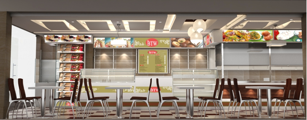 Fast Food Restaurants Interior Design