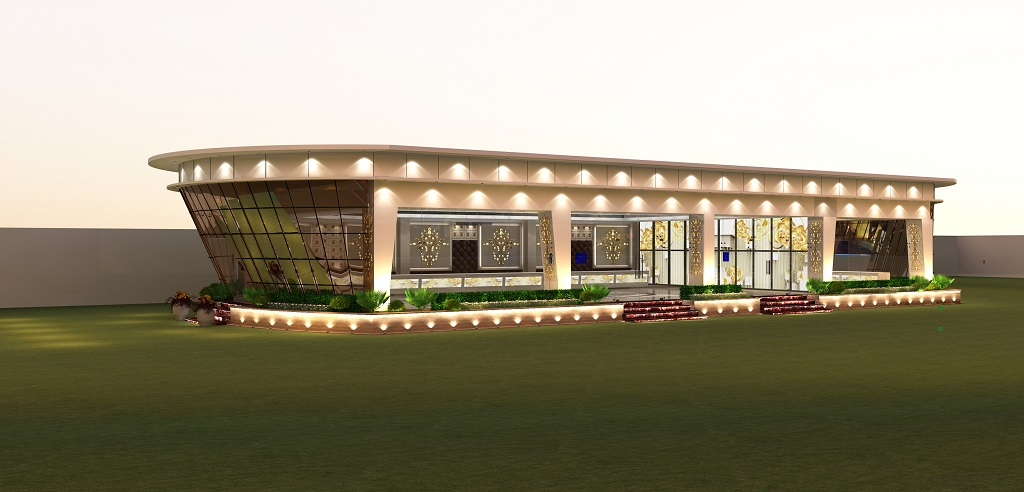 banquet hall exterior design