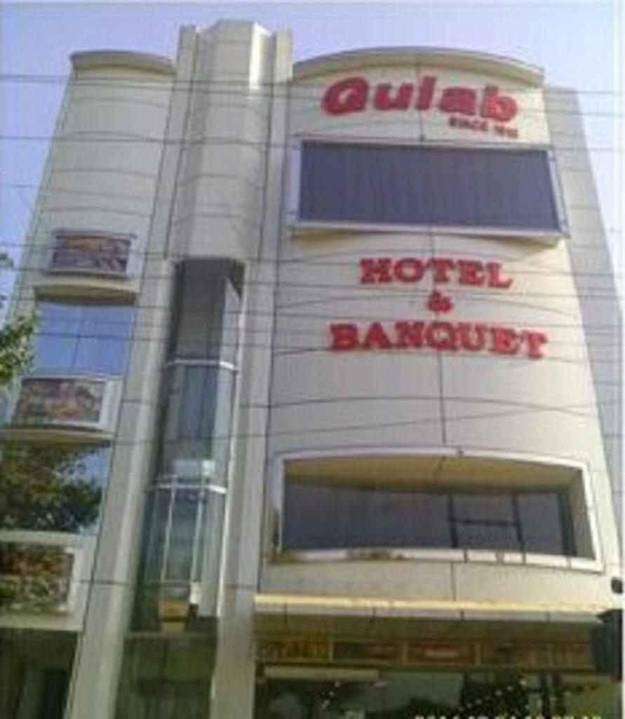 hotel and banquet exterior design