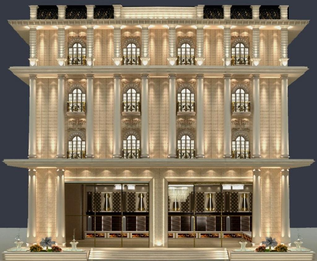hotel exterior design