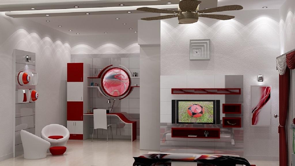residential interior concept