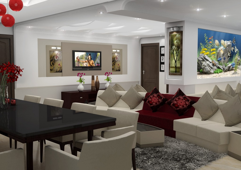 residential interior concept