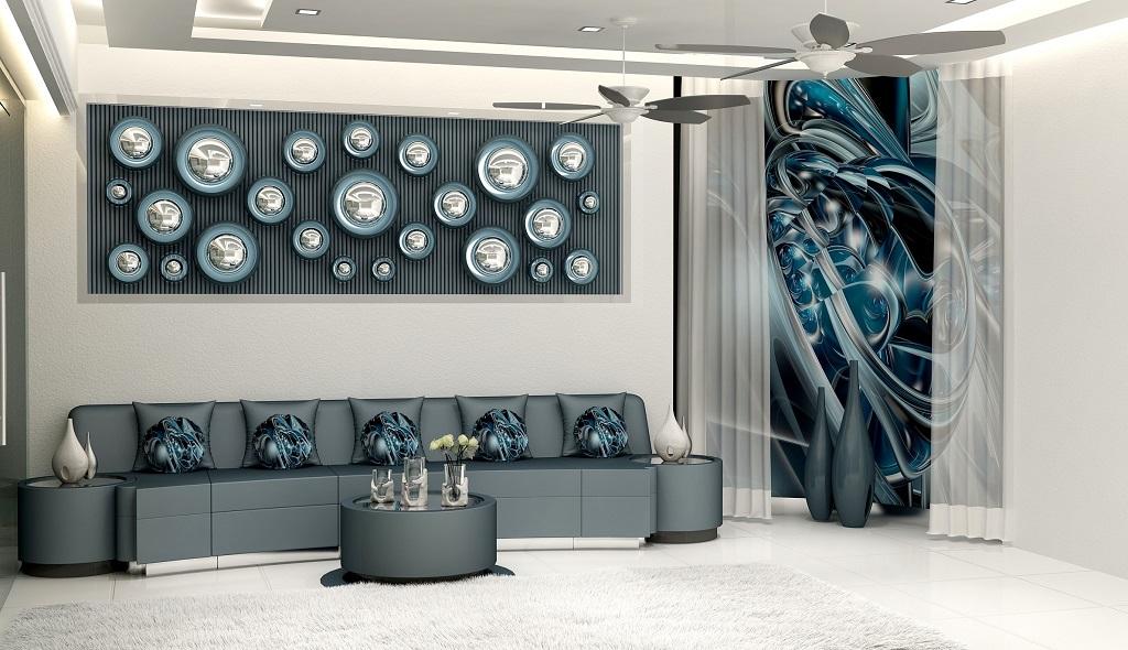 residential livingroom interior design