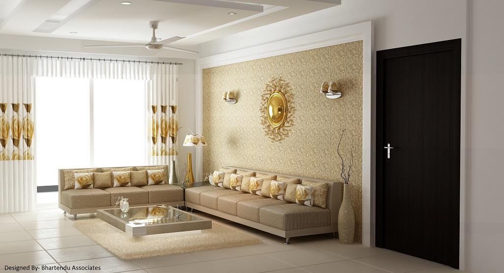 residential livingroom interior